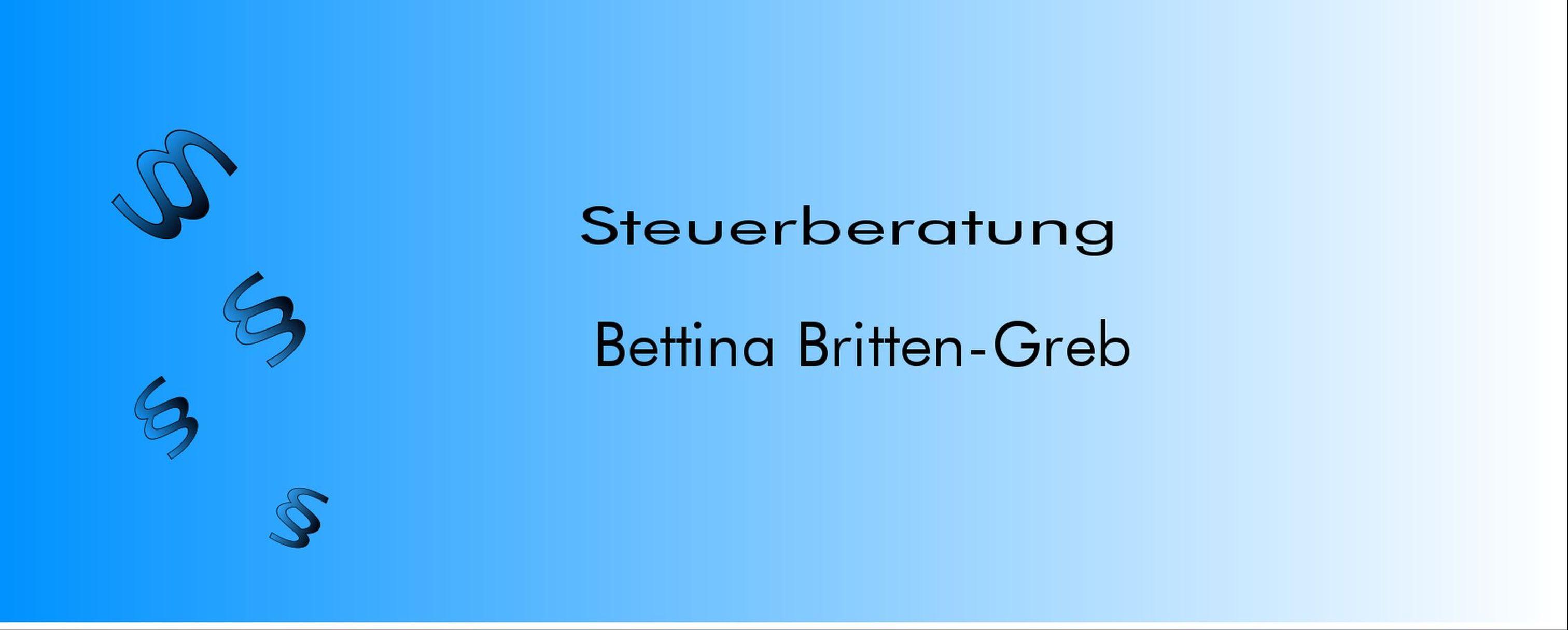 Steuerberatung Bettina Britten-Greb Logo